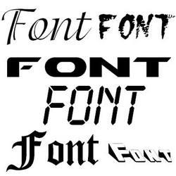 Шрифт в рекламе