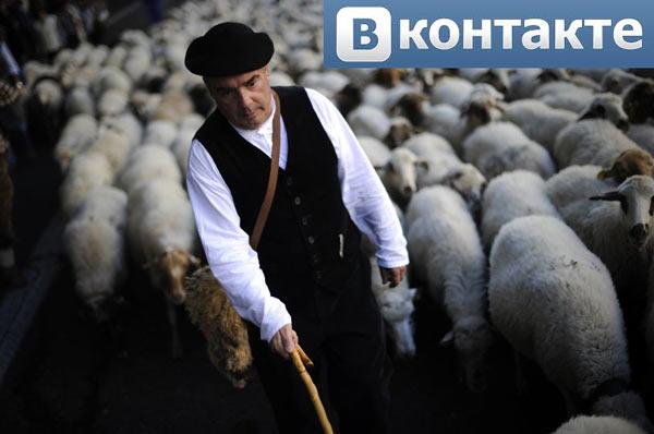 Овцы и пастухи ВКонтакте