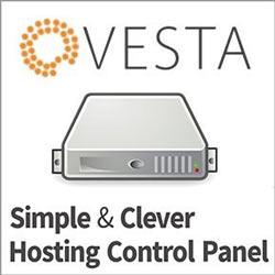 Бесплатная, но продвинутая панель управления хостингом Vesta