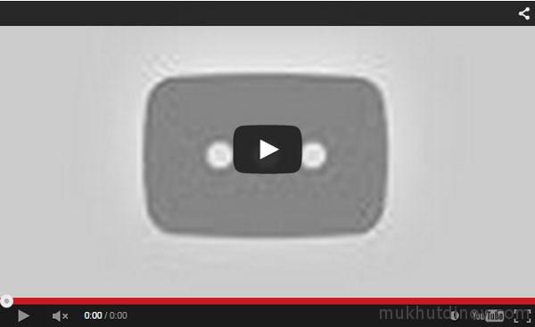 Видео не производится на сайте, так как она было удалено с YouTube
